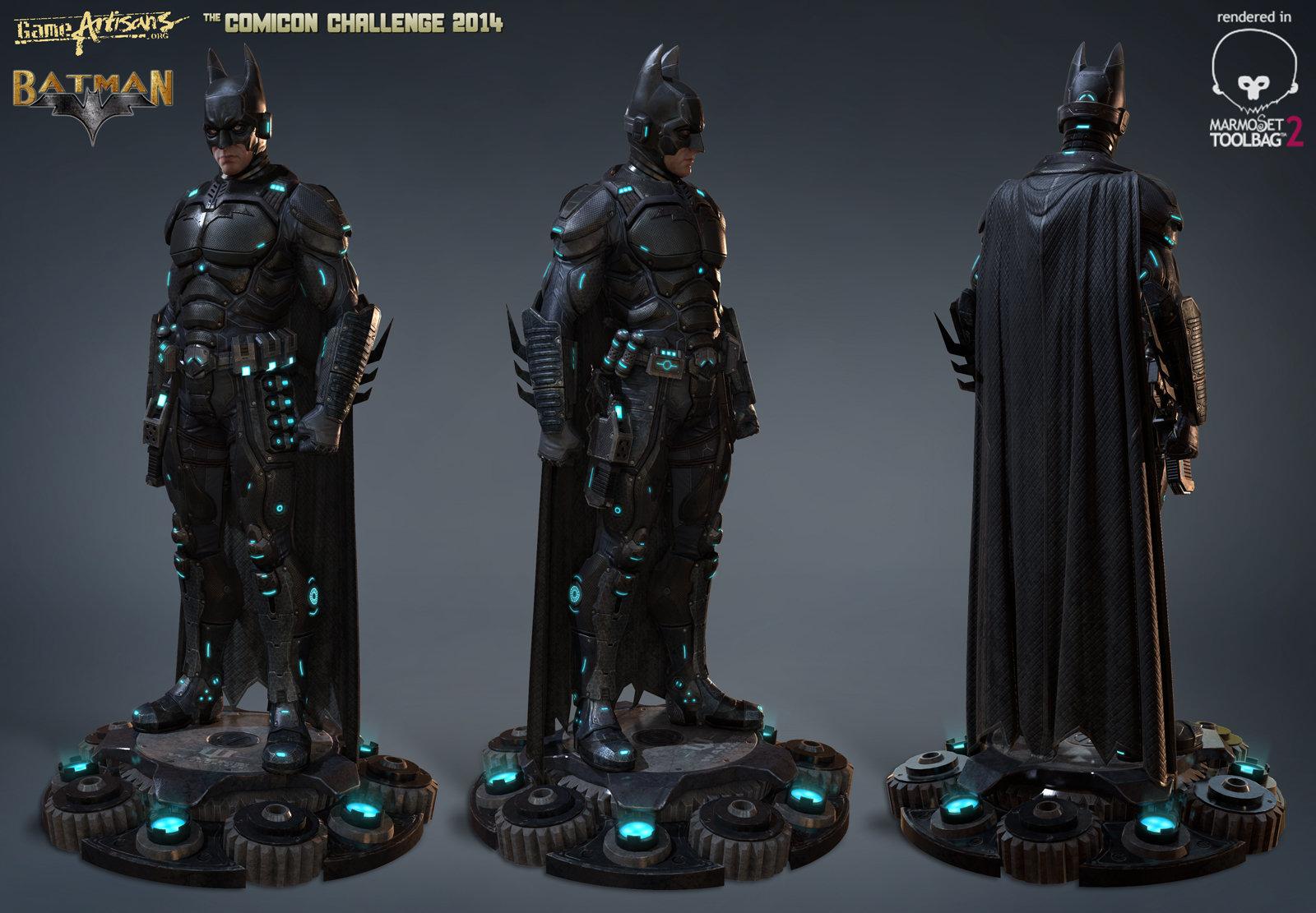 Comicon Challege 2014 Entry Batman