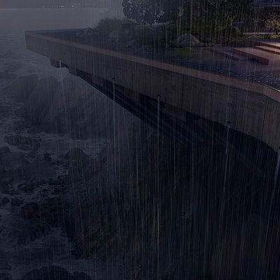 The Wolverine . Concept Art . Yashida Estate