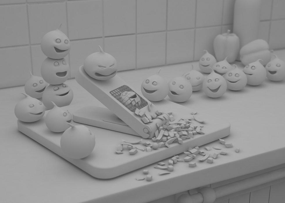 Cantina onions grey 980