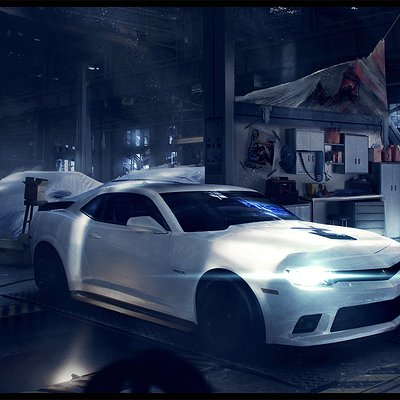 Nitro nation   garage concept by wojciechfus d7eedfu