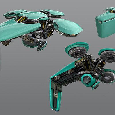 Karakter kz4 drone v8