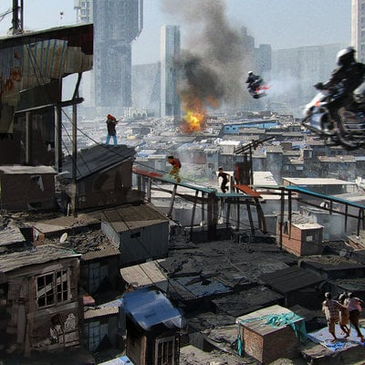 Fredram babel cityscape 01
