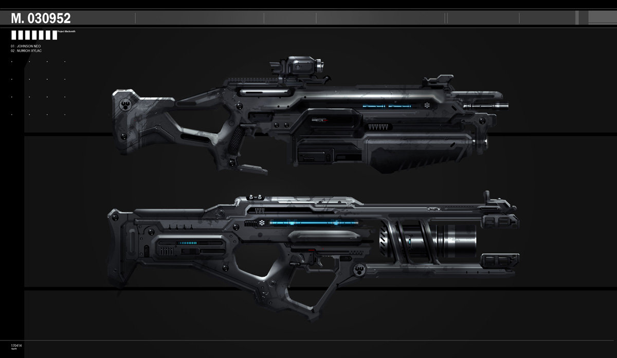 Rifle concepts