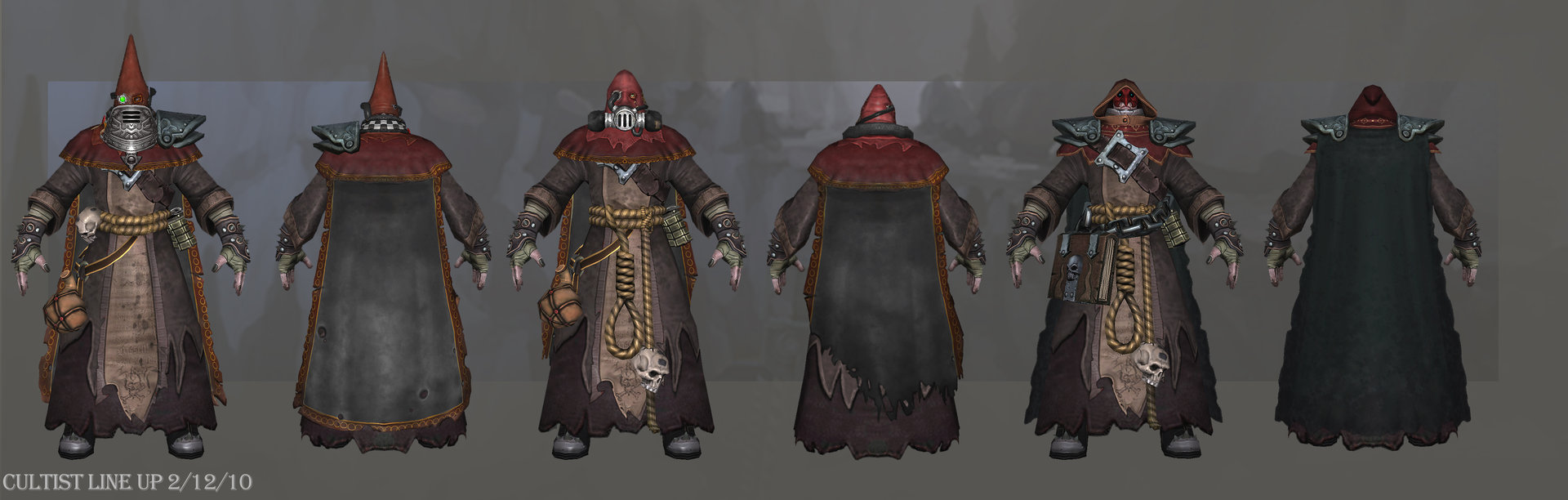 Cultist lineup