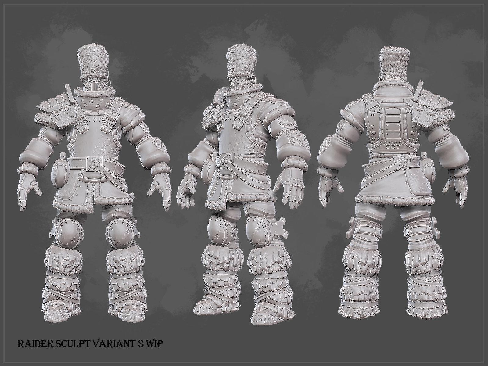 Raidervariant3 sculpt