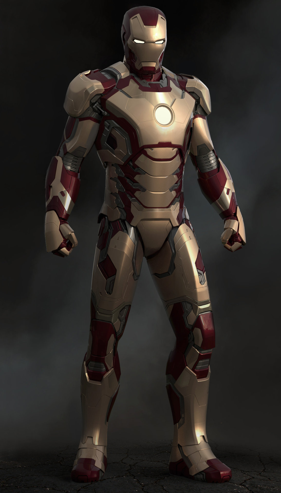 Droidsforsale iron man 3 mark 42 front