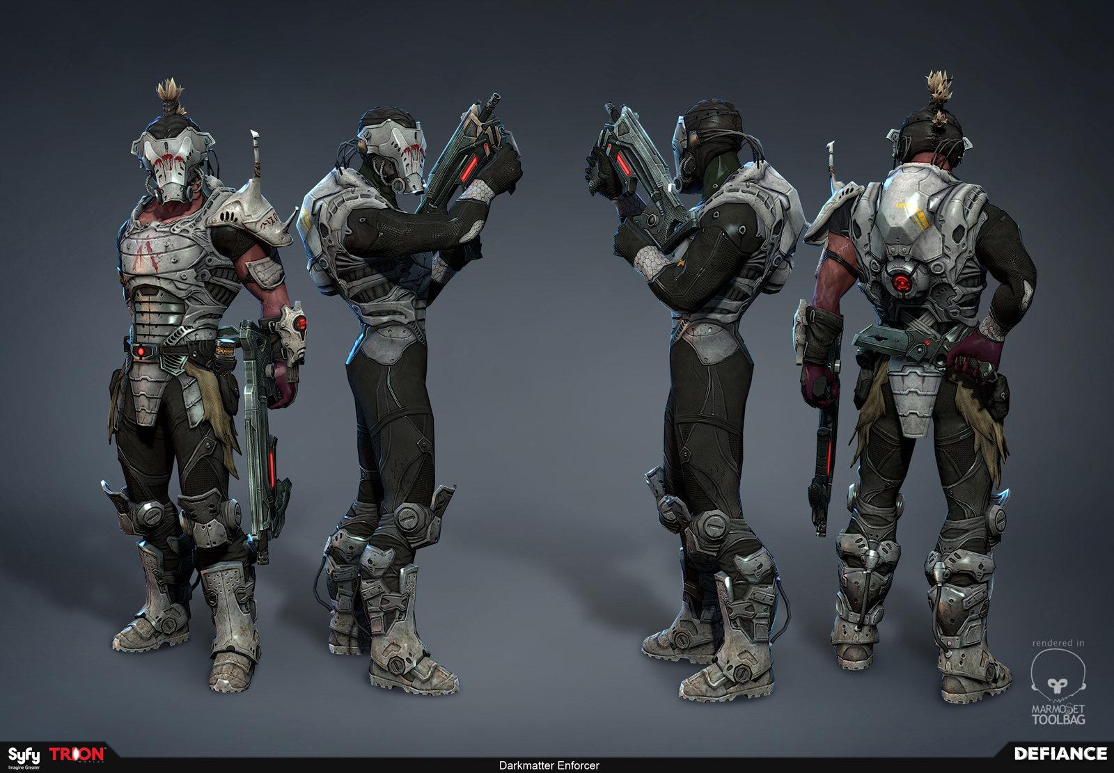 Defiance - Darkmatter Soldiers