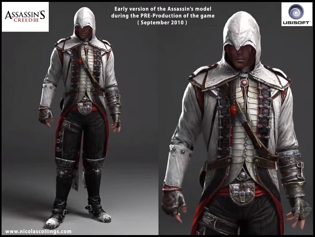 Artstation Assassin S Creed 3 Nicolas Collings