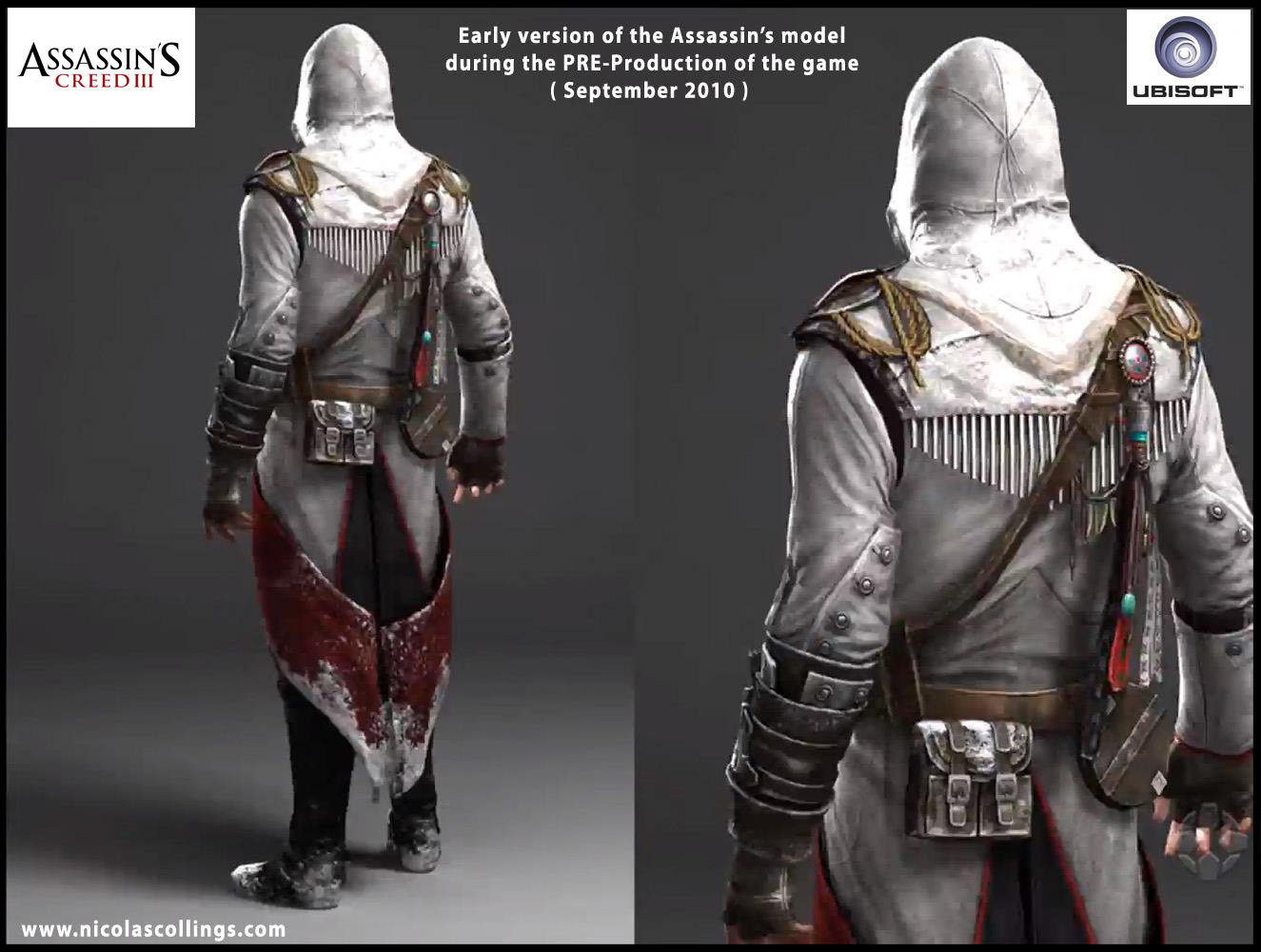 Nicolas Collings Assassin S Creed 3