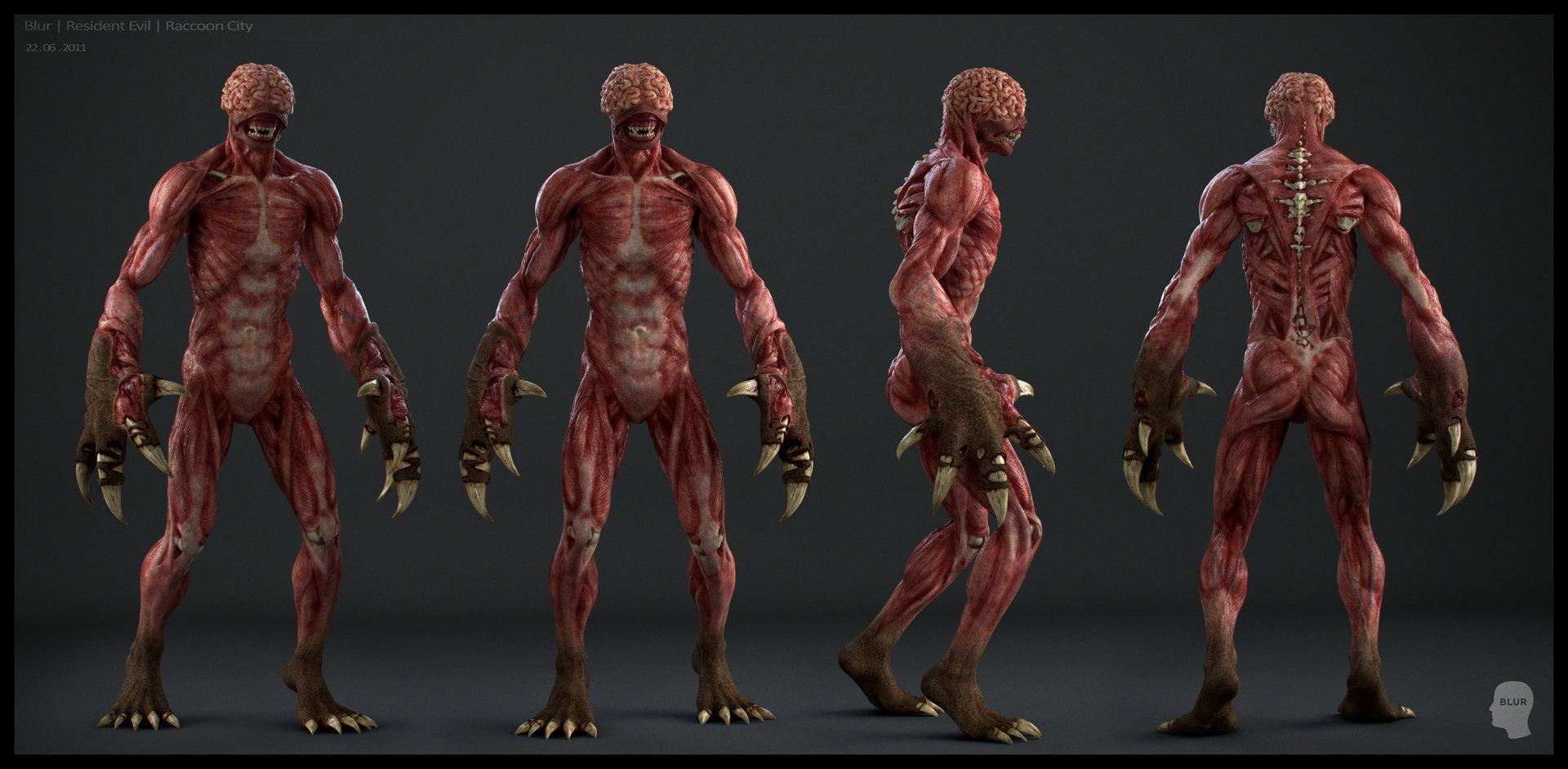 Nicolas Collings Resident Evil Blur Studio