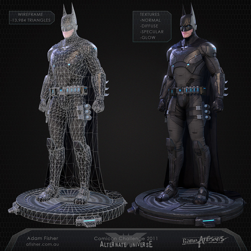 Batman constructionshot