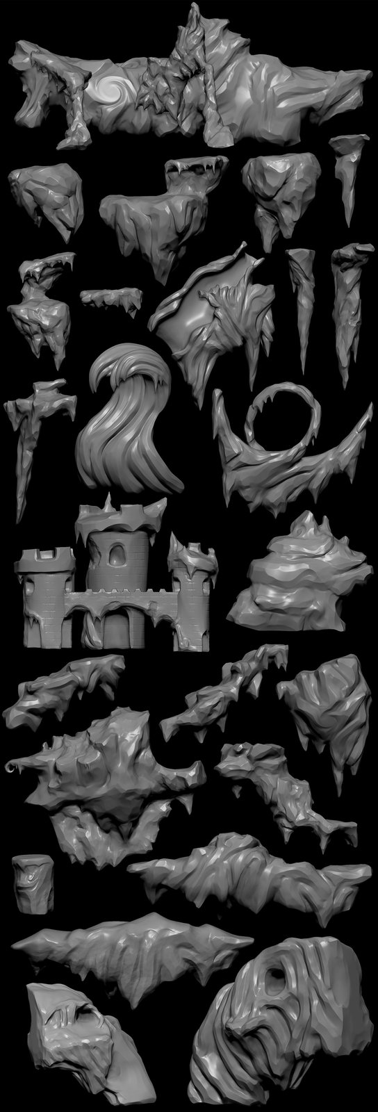 Some of many more Zbrush sculpts.