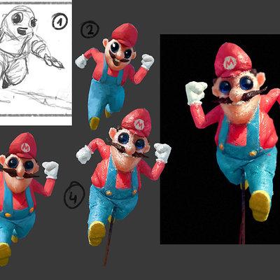 Mario steps
