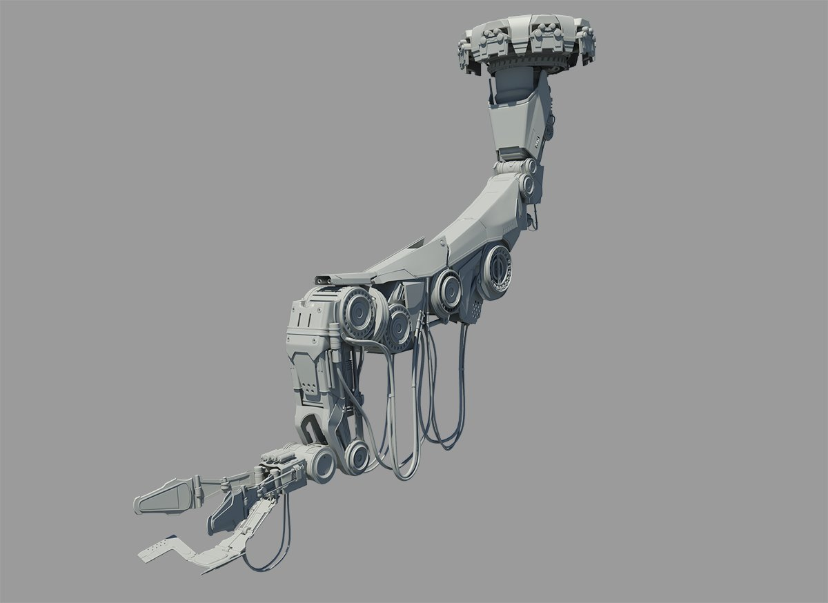 Star Craft 2 Mechanical Arm