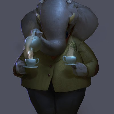 Professor elbert elephant