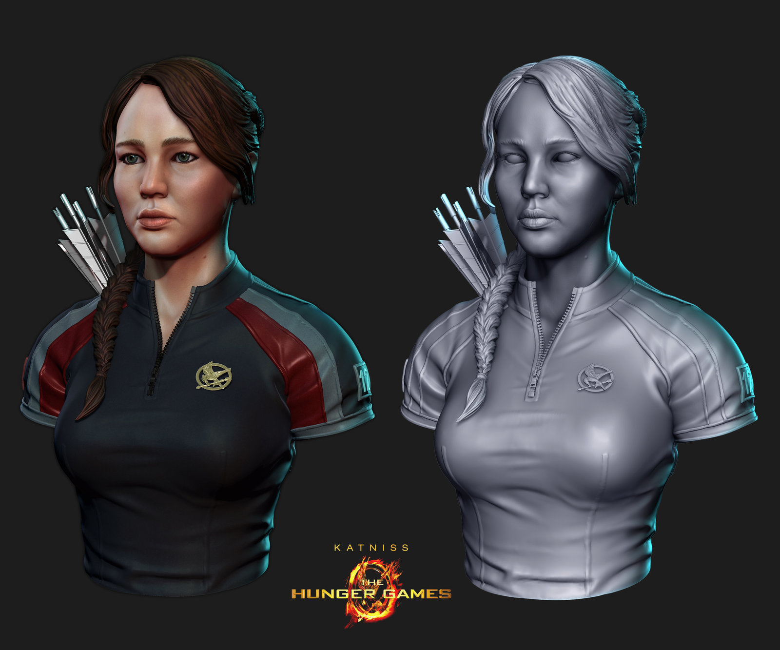 Hunger Games Katniss Fanart