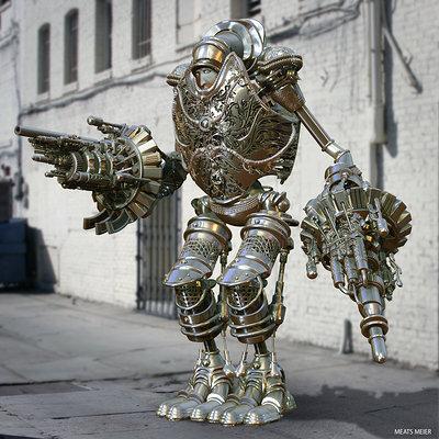 Robro silver 6