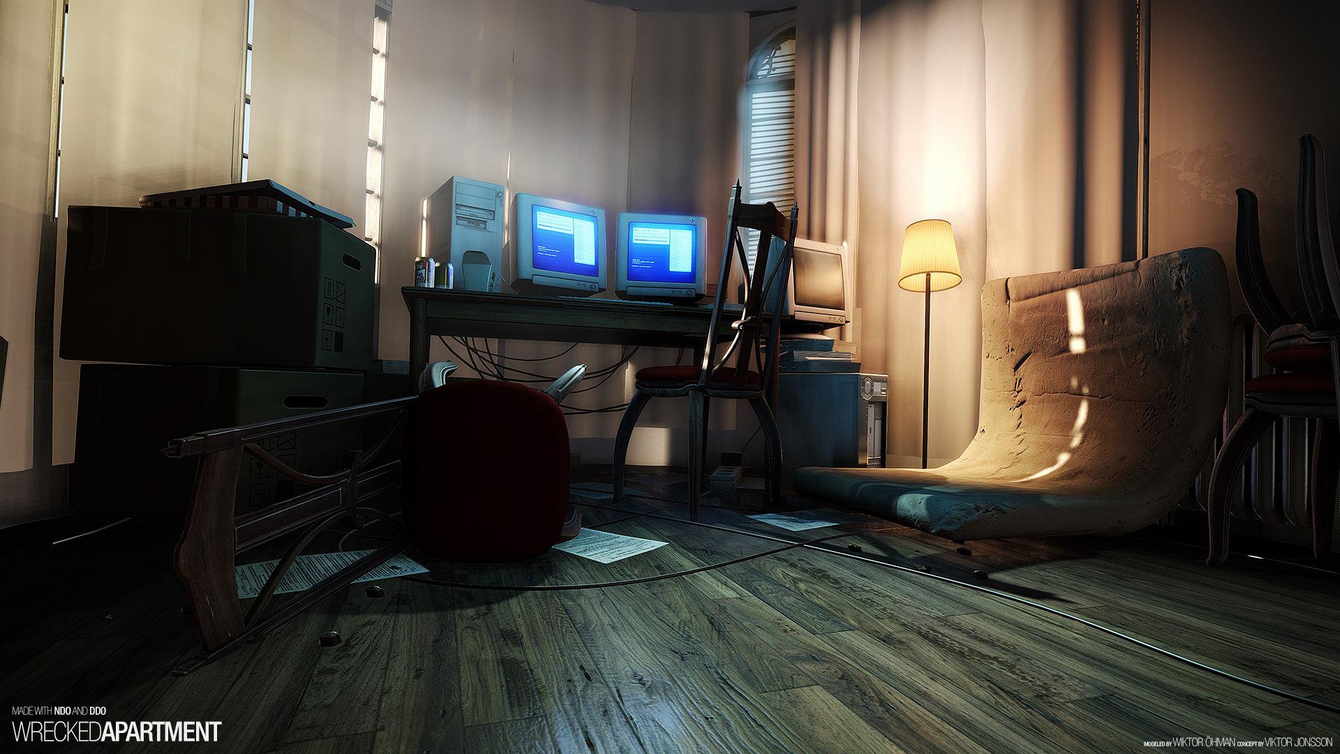 Wrecked Apartment (NDO & DDO)