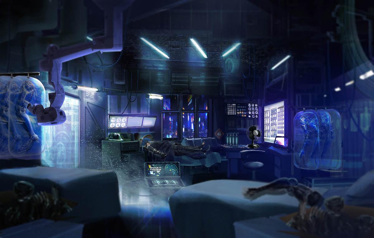 Cyberpunk Med Clinic