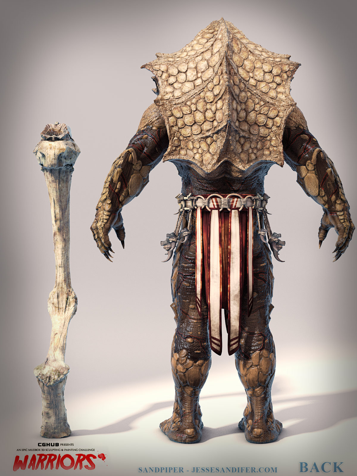 Warrior ortho backrender web