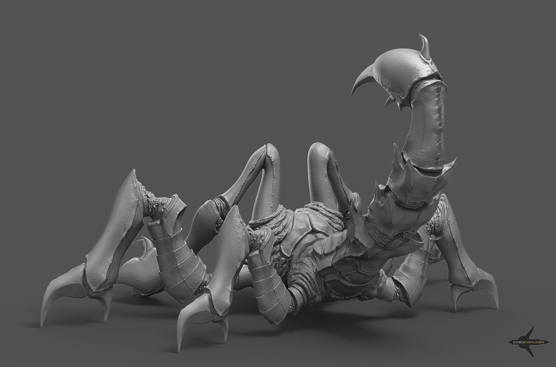 Swampcreature render4 web