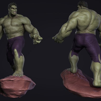 Droidsforsale the hulk design maquette