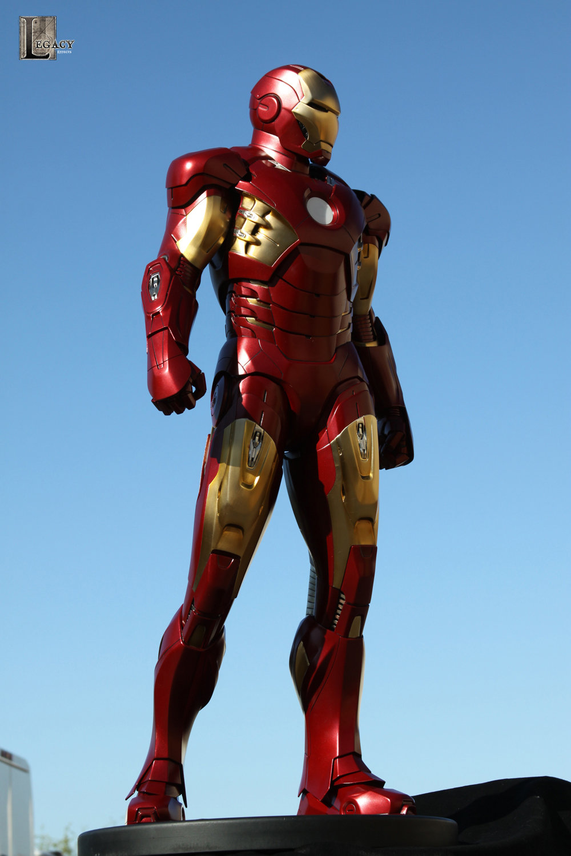 Droidsforsale iron man mark vii maquette