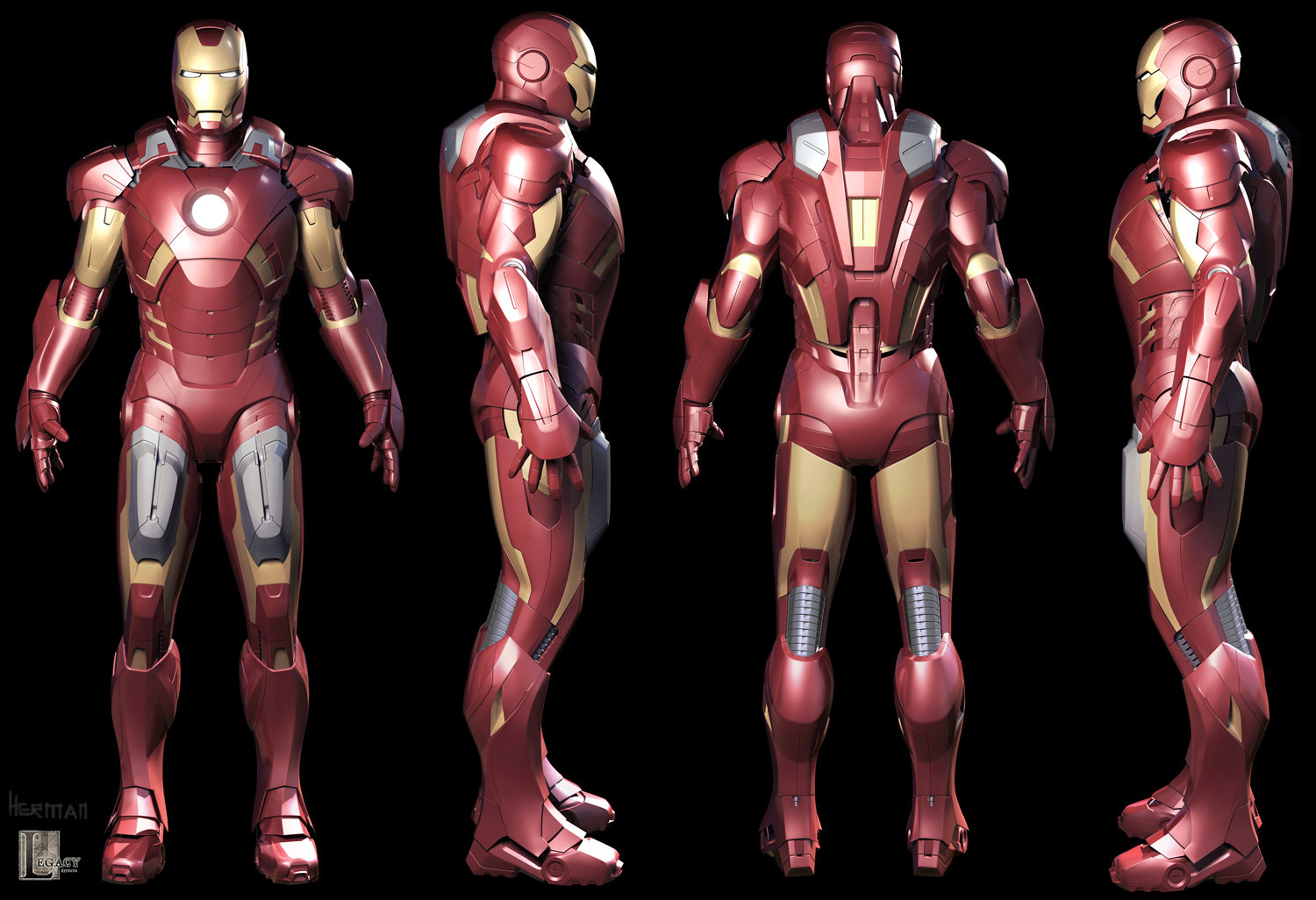 Droidsforsale iron man mark vii turnaround