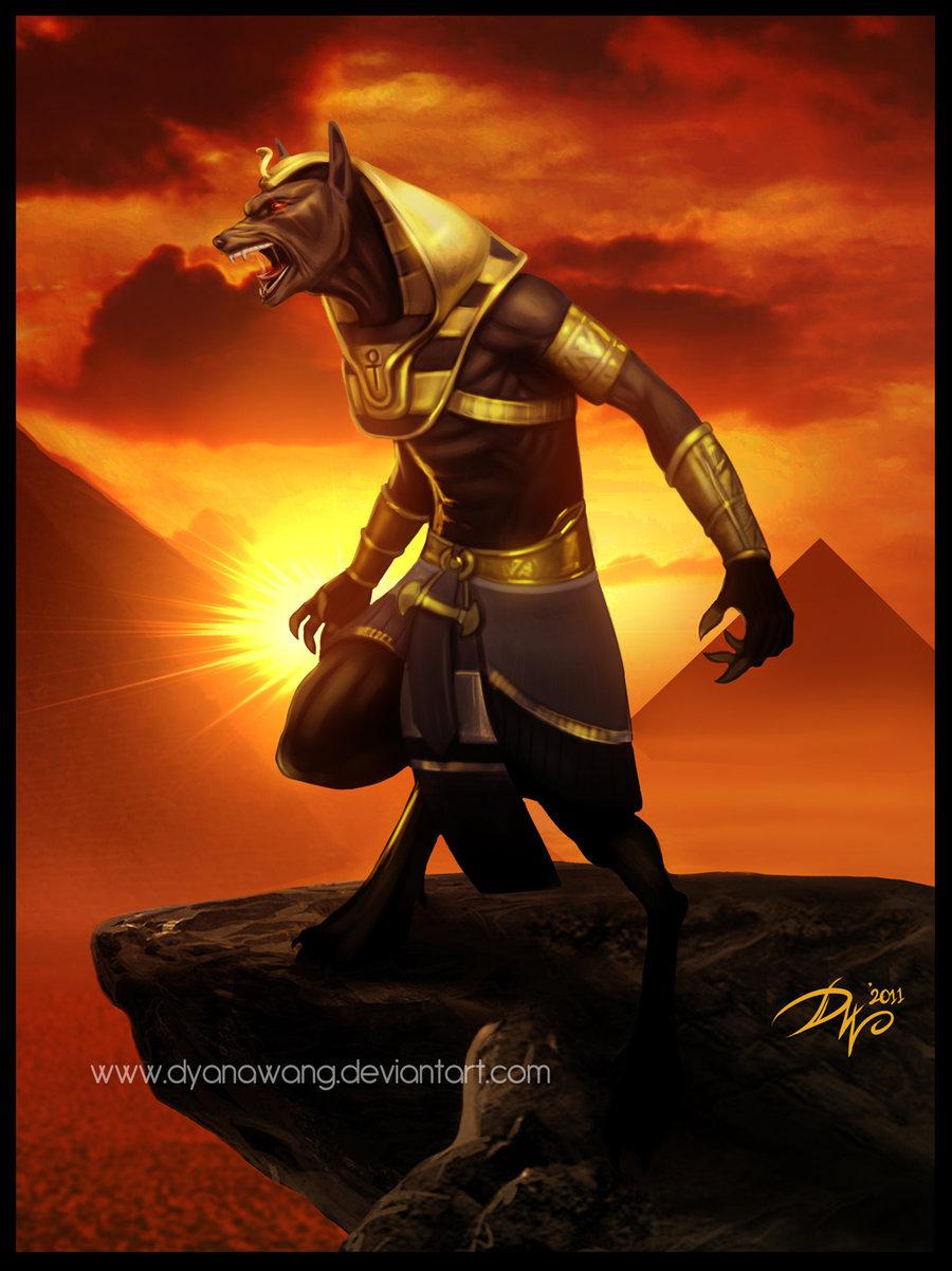 God Of Death Anubis