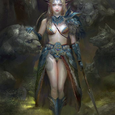 Druid by michaelcty d6vmjj5