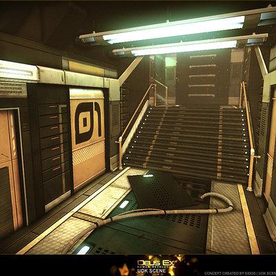 Deus Ex UDK Scene