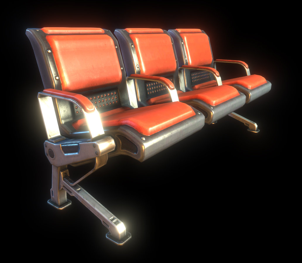 Asset - Natural Selection 2 - Transit Station Seats