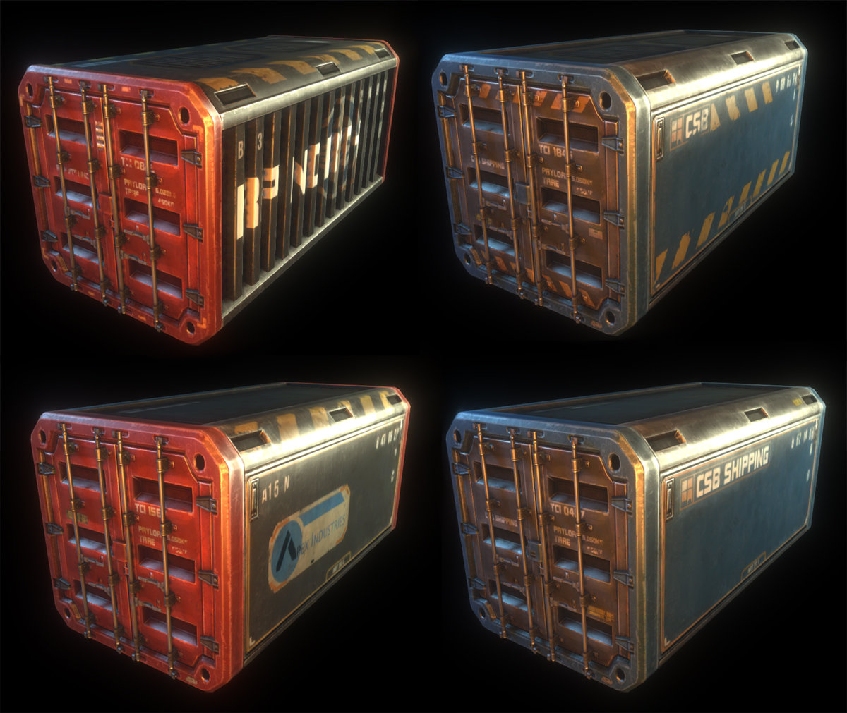 Asset - Natural Selection 2 - Container Crates