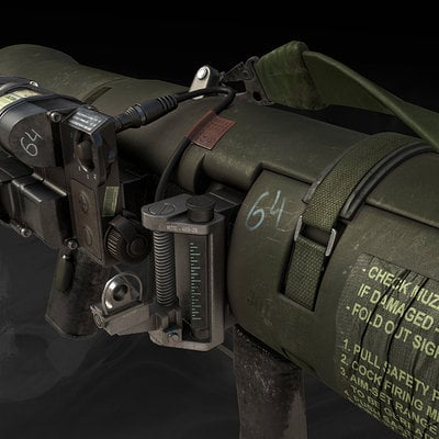 Call of duty ghosts carl gustav game model 01