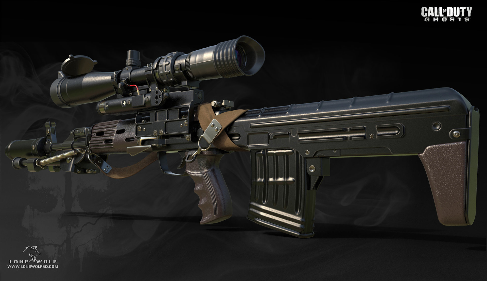 Call of duty ghosts dragunov 01 2