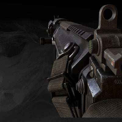 Call of duty ghosts sc2000 game model 02