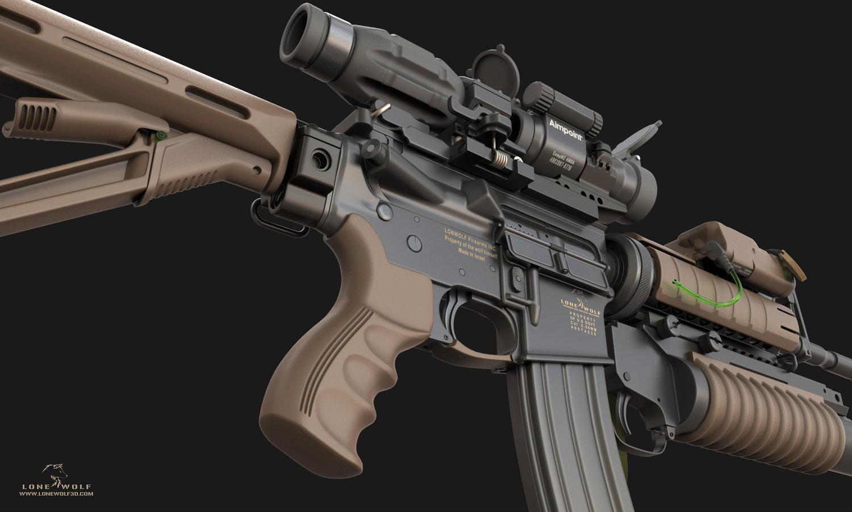 M4 ks m203 3cghub