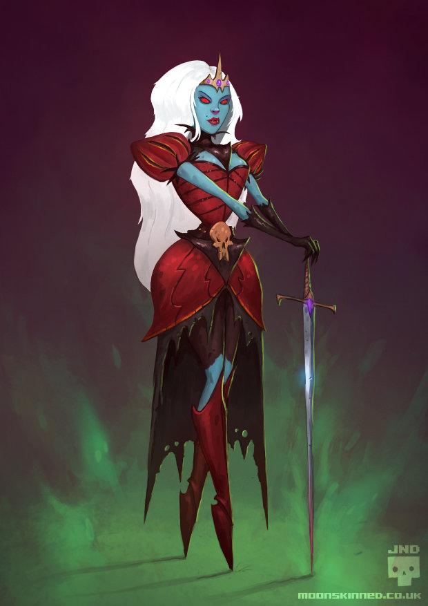 Blood queen copy