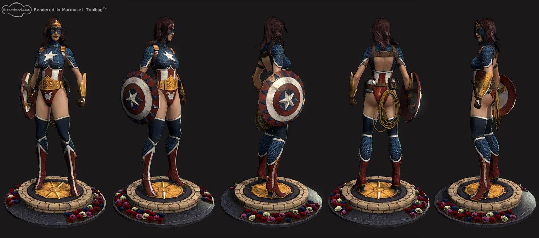 Comicon Challege 2011 America's Wondergirl Turnaround