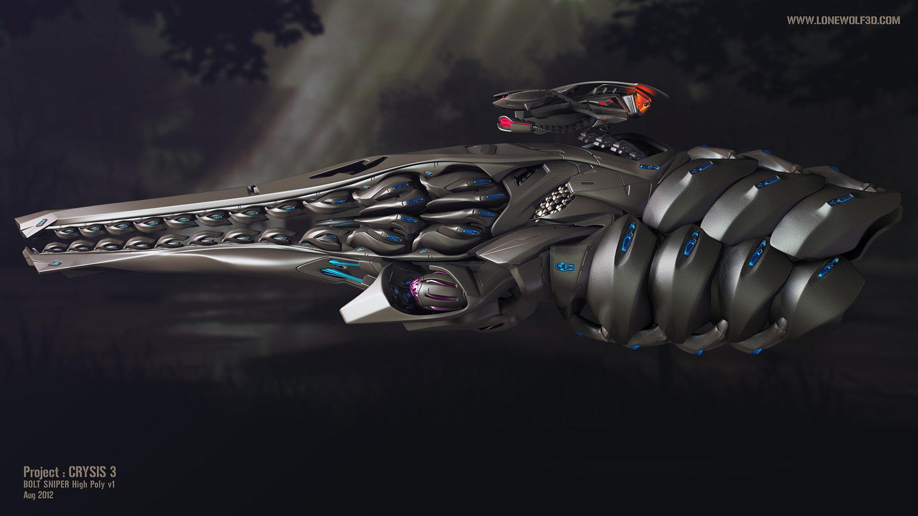 Crysis3 bolt lightning side
