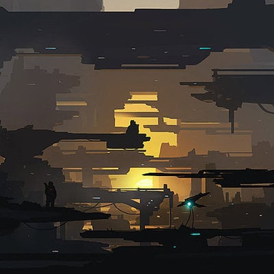 Sci fi structures by dustycrosley d7bdc61