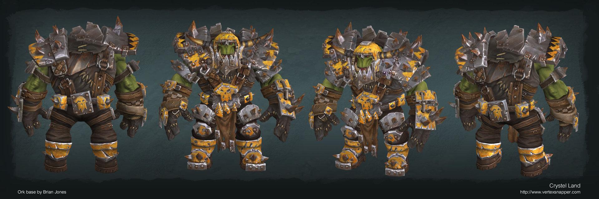 Organizedchaos ork armor