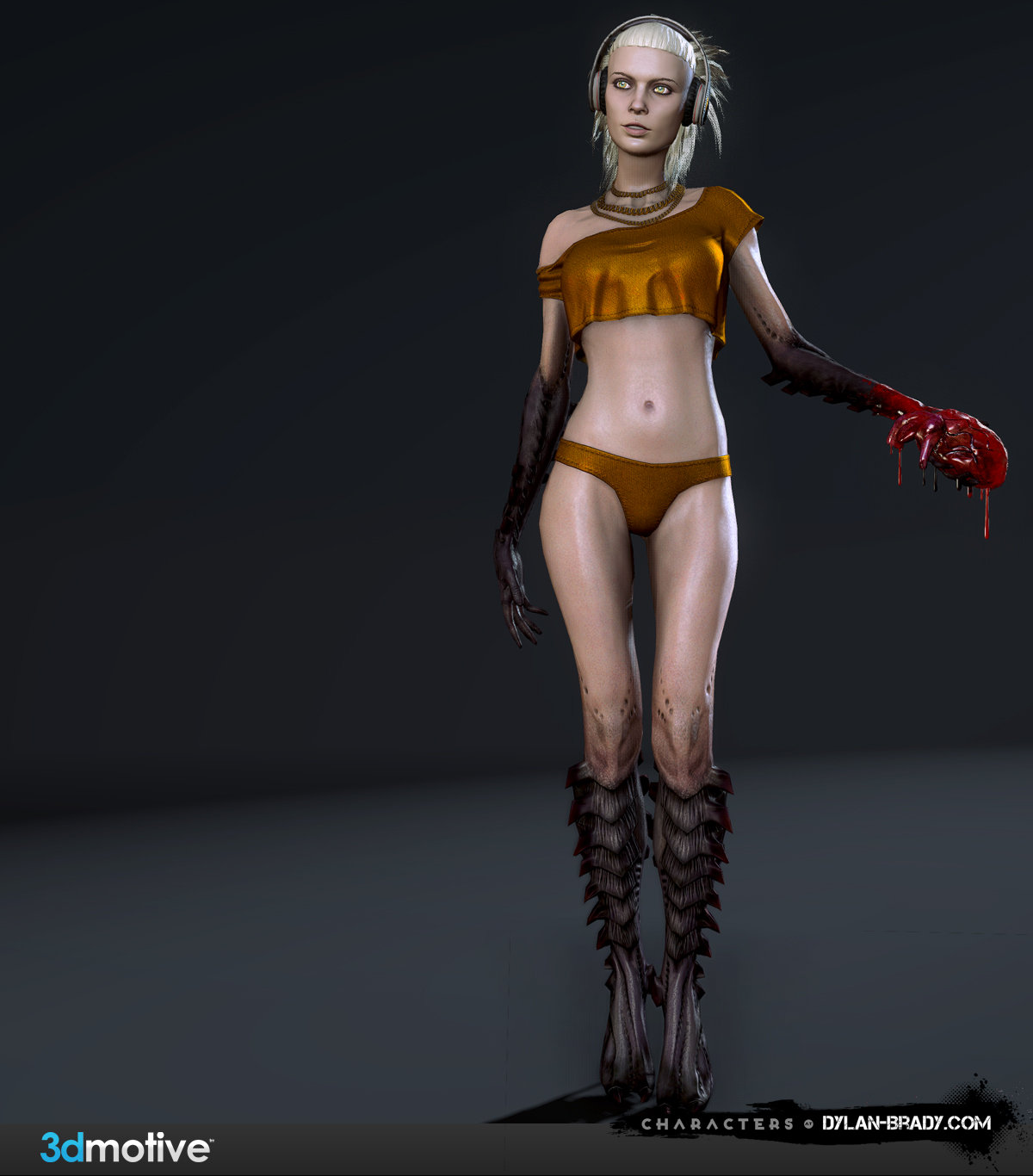 3D Motive Demon Girl