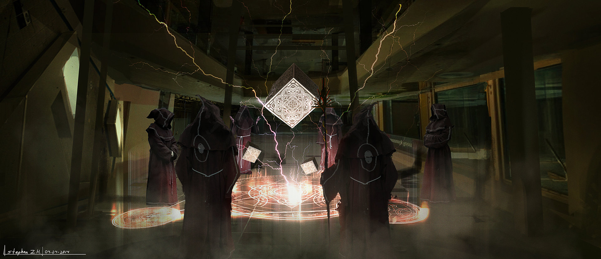 Dark spellcg