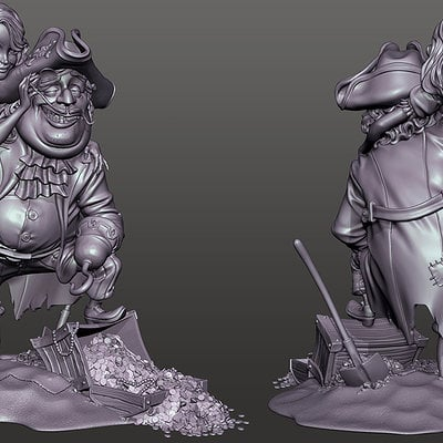 Scallywag sculpt