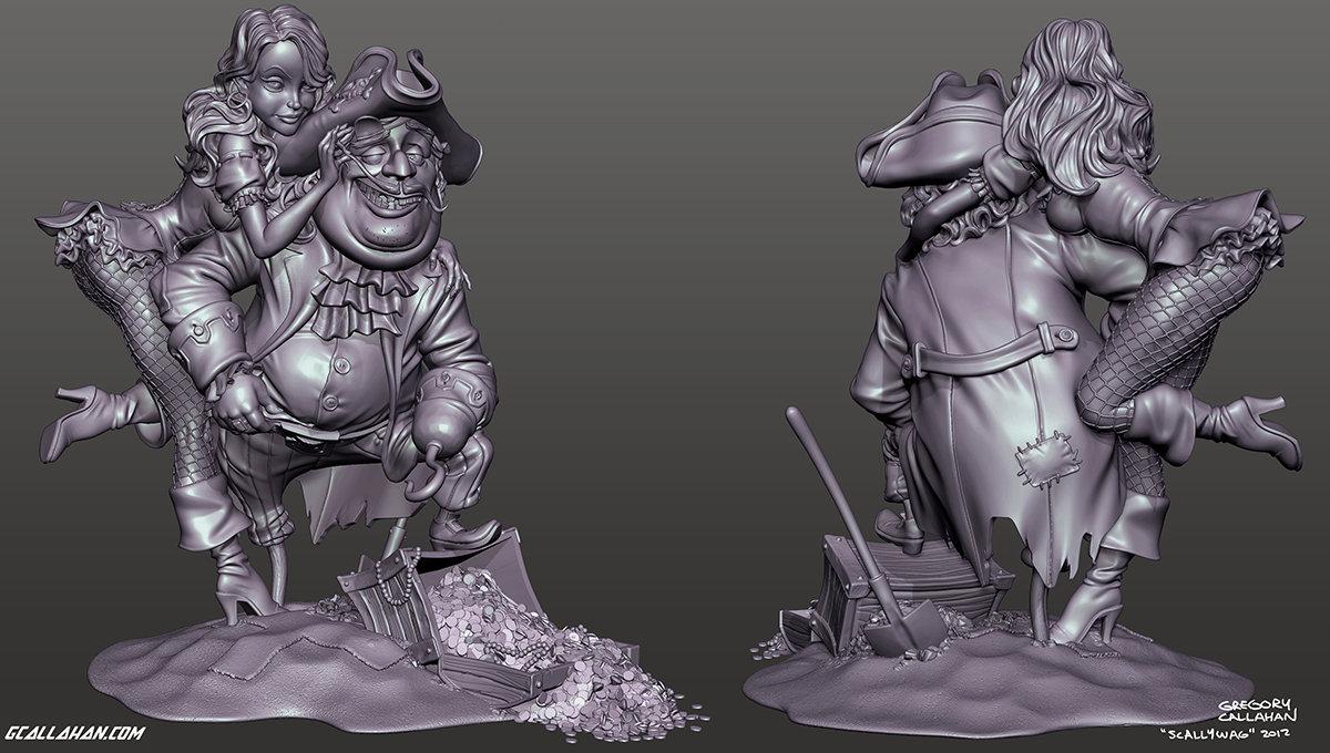 Scallywag sculpt