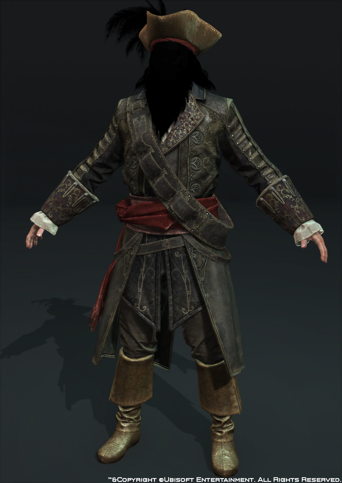 Body blackbeard front