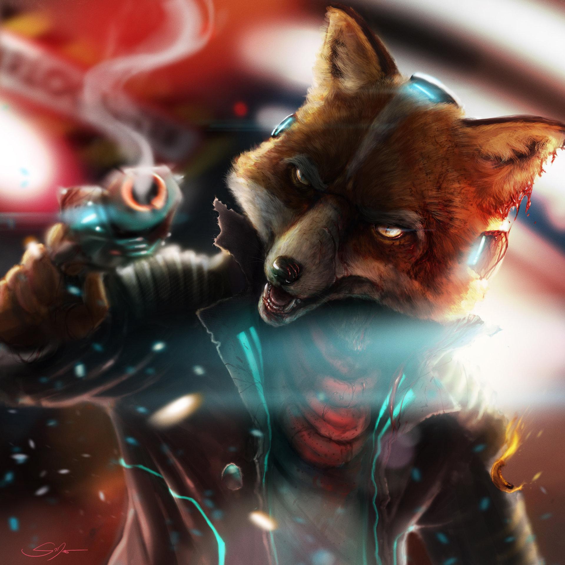 Artstation Fox Mccloud Sterling Morris