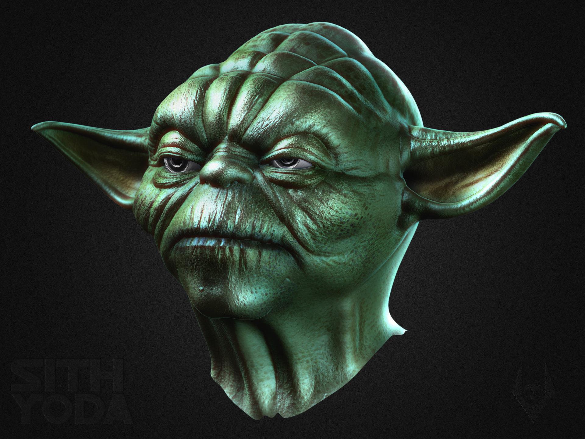 Yoda polypaint