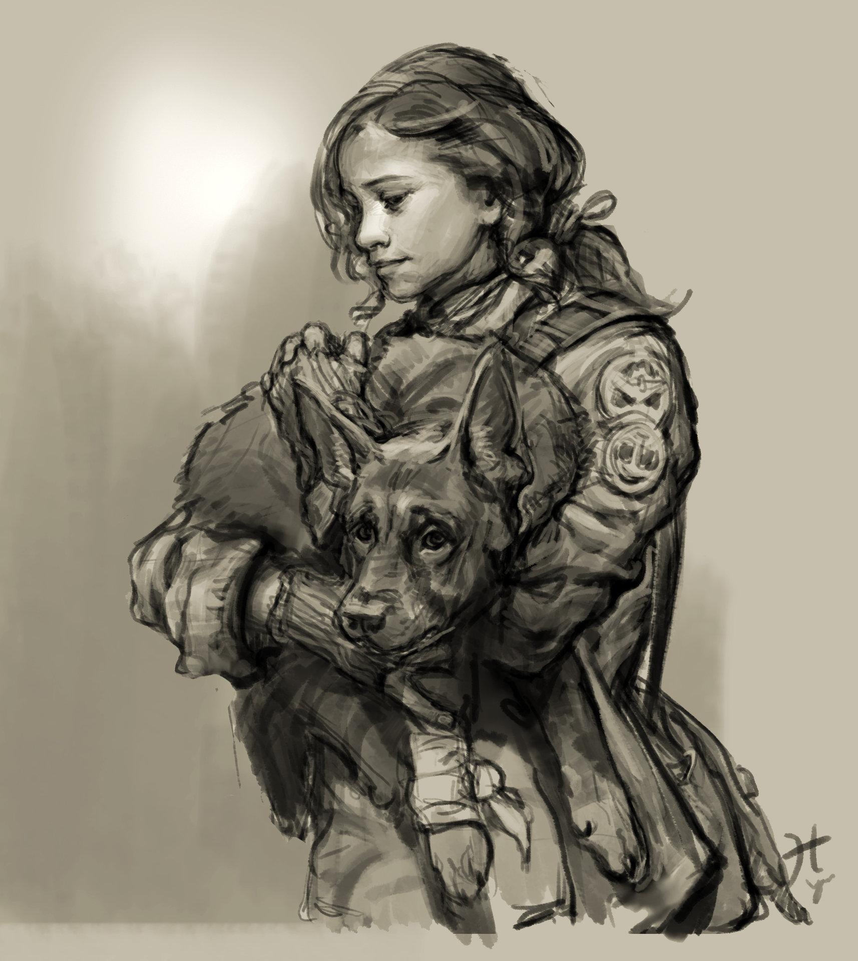 Heroine sketch hn 05 01